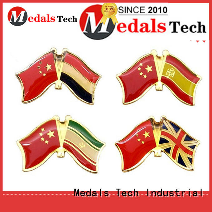 Medals Tech plating suit accessories lapel pins butterfly for man