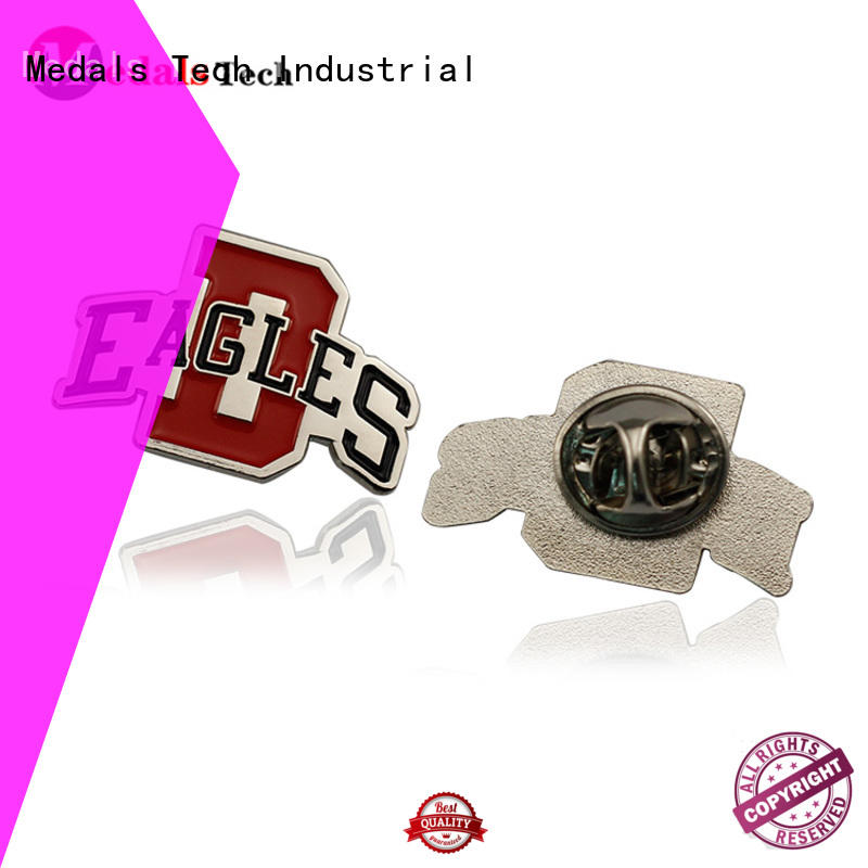 Medals Tech badge cool lapel pins factory for man
