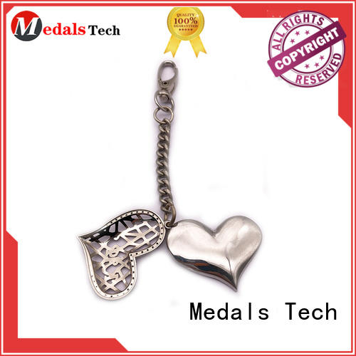 Medals Tech bullet metal keychains directly sale for promotion