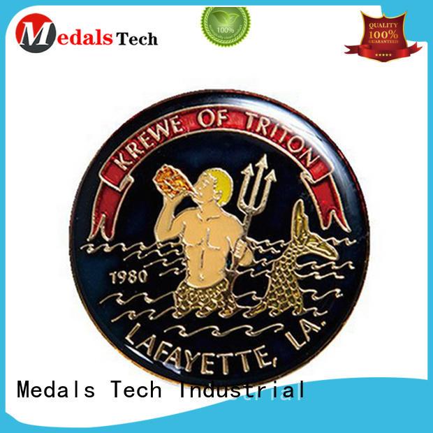 Medals Tech unique unit challenge coins personalized for games