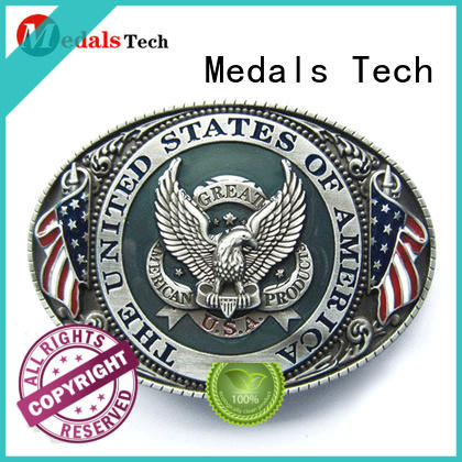 Medals Tech ox custom belt buckles factory price for adults