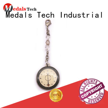 Medals Tech metal name keychains series for woman