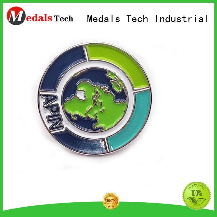 Medals Tech lapel custom lapel pins factory for adults