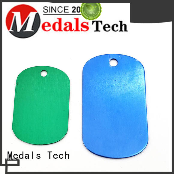 Medals Tech silver dog tags for puppies from China for add on sale