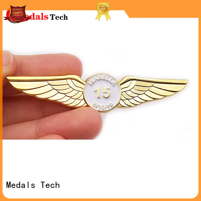 embossed custom lapel pins cheap sandblast design for adults
