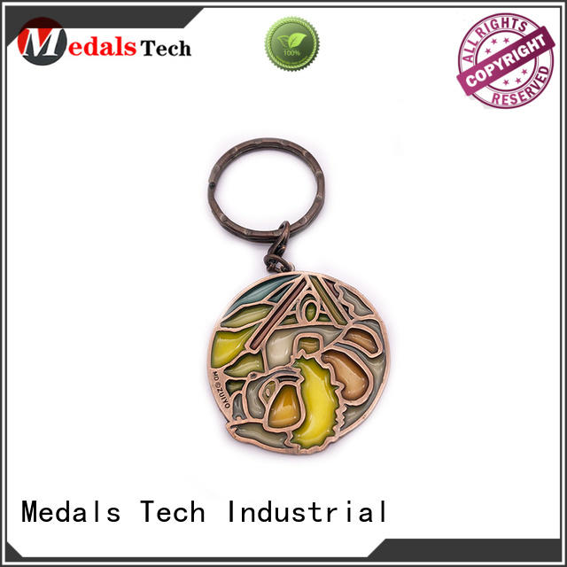 Medals Tech antique cool keychains for guys directly sale for man