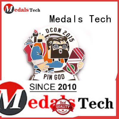 Medals Tech professional quality lapel pins factory for add on sale