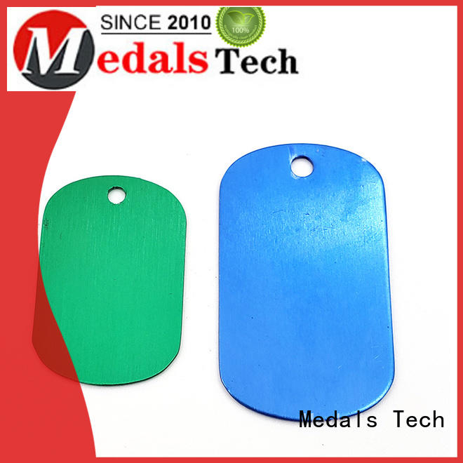 Medals Tech plating marine dog tags customized for boys