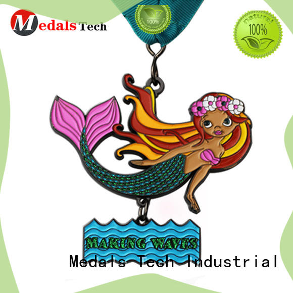 Medals Tech round the gold medal personalized for commercial