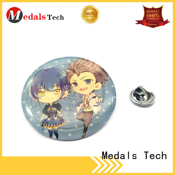 Medals Tech metal suit lapel pins with good price for adults