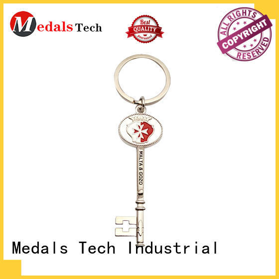 Medals Tech metal keychain supplies directly sale for woman