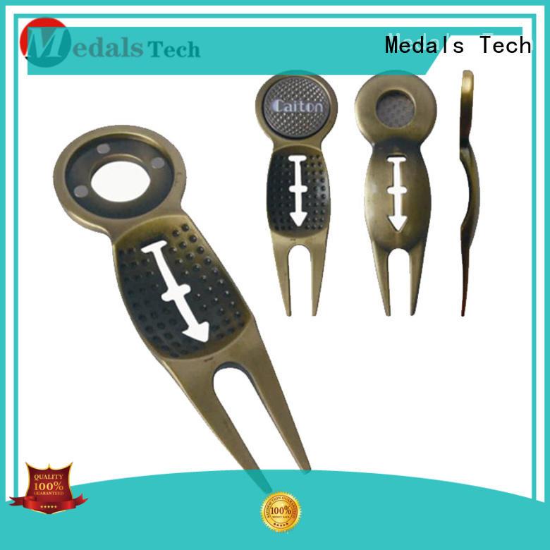 Medals Tech pitch divot tool ball marker design for woman