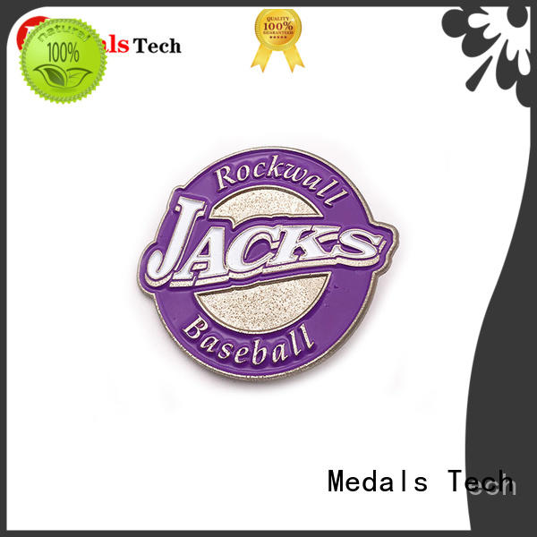 Medals Tech coated cool lapel pins factory for woman
