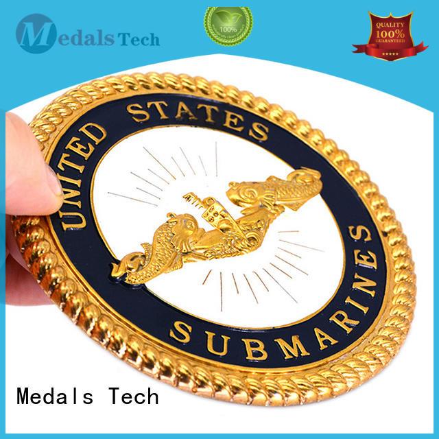 Medals Tech durable unit challenge coins wholesale for kids