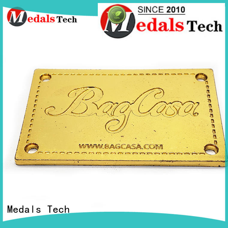 Medals Tech printed steel name plates factory for add on sale