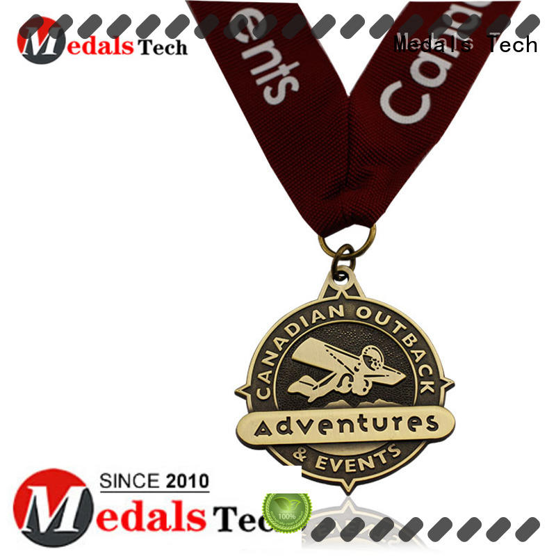 Medals Tech antique silver medal wholesale for adults