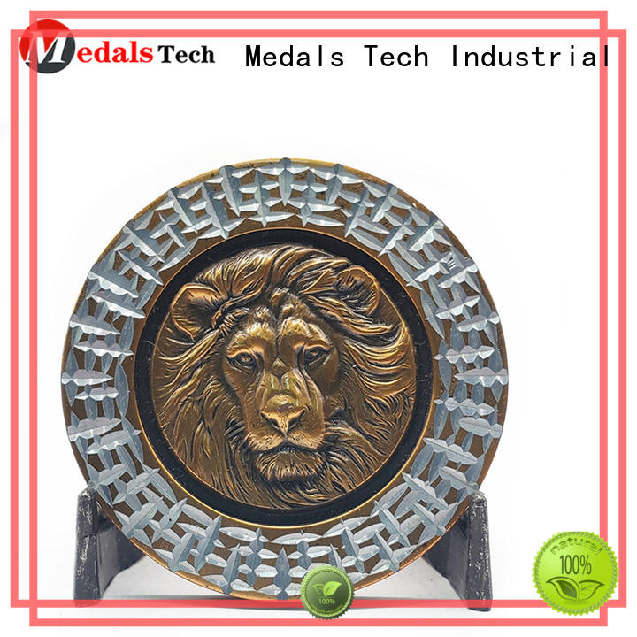 Medals Tech personalized world challenge coins factory price for kids