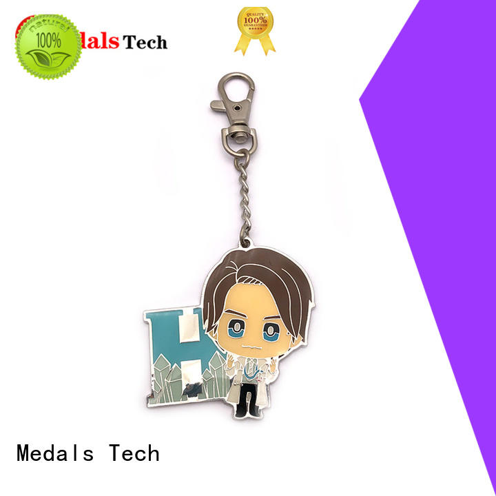 Medals Tech gold cool keychains for guys manufacturer for promotion