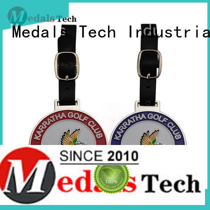 Medals Tech popular golf bag name tags series for woman