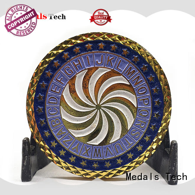 Medals Tech smooth seal challenge coin factory price for collection