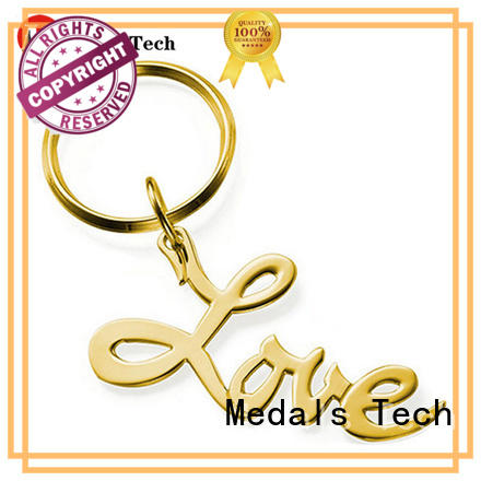 Medals Tech casting custom logo keychains customized for add on sale