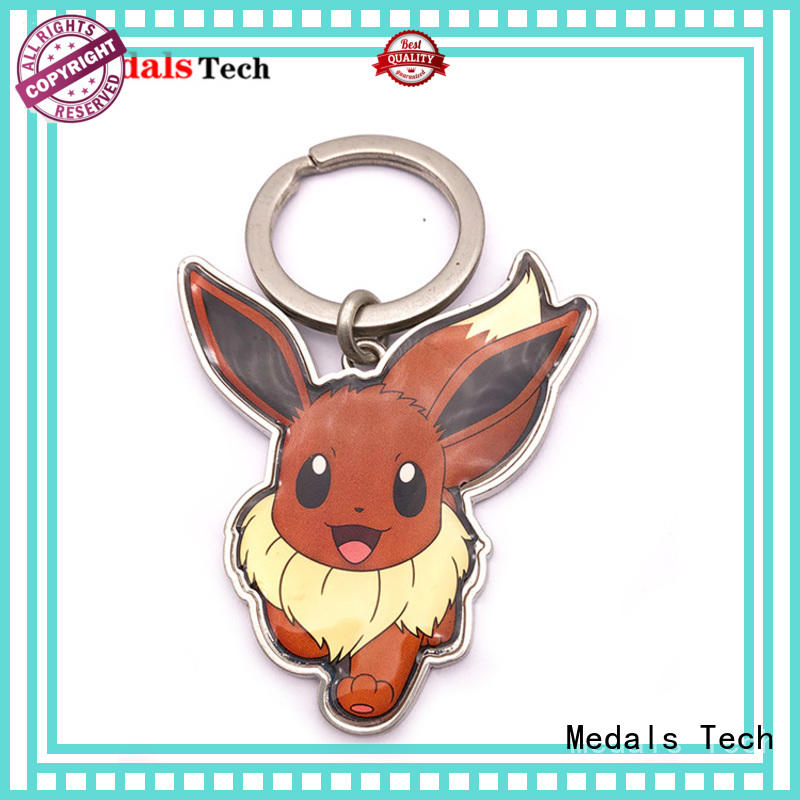 Medals Tech metal leather keychain manufacturer for man