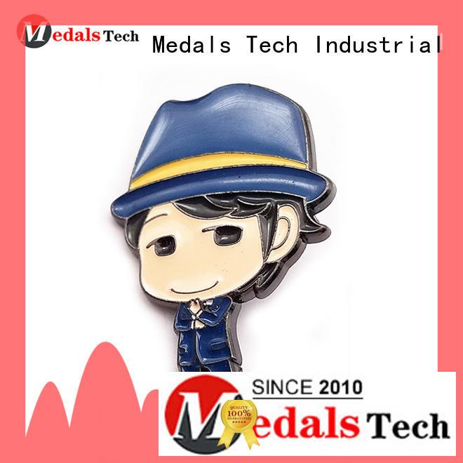 Medals Tech metal custom lapel pins cheap design for adults