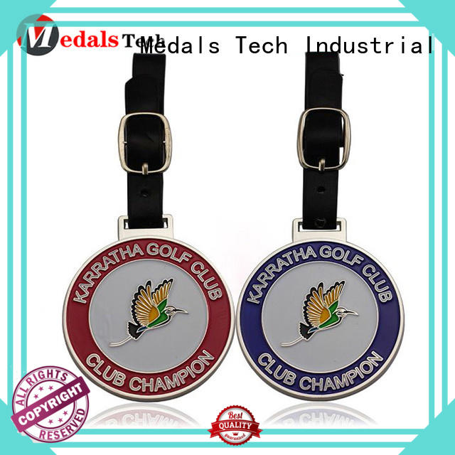 bronze golf bag tag plated directly sale for add on sale