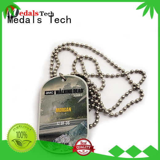 Medals Tech gold us army dog tags from China for adults