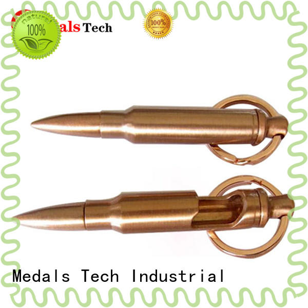 Medals Tech gold car logo keychain coated for woman