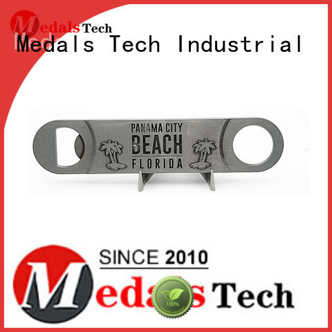 Medals Tech engraved beer opener directly sale for household