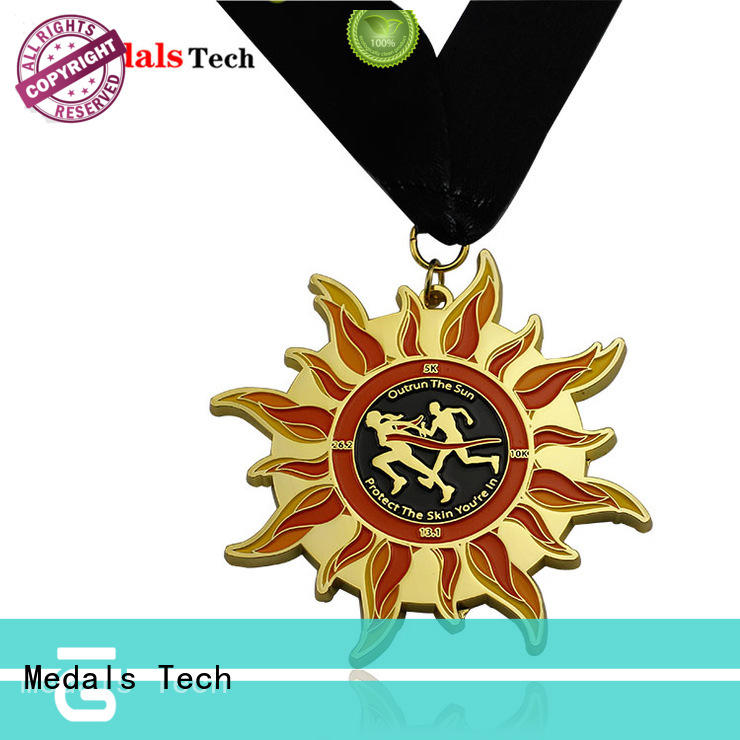 Medals Tech fashion custom running medals wholesale for man