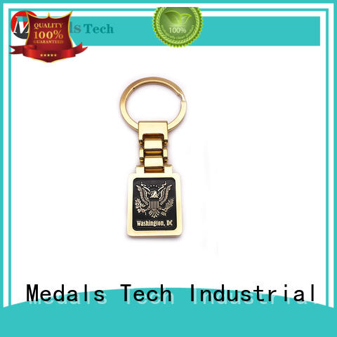 Medals Tech promotion metal key ring series for commercial