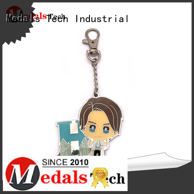 Medals Tech novelty keyrings from China for souvenir