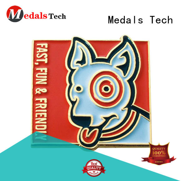 Medals Tech steel mens lapel pin with good price for adults