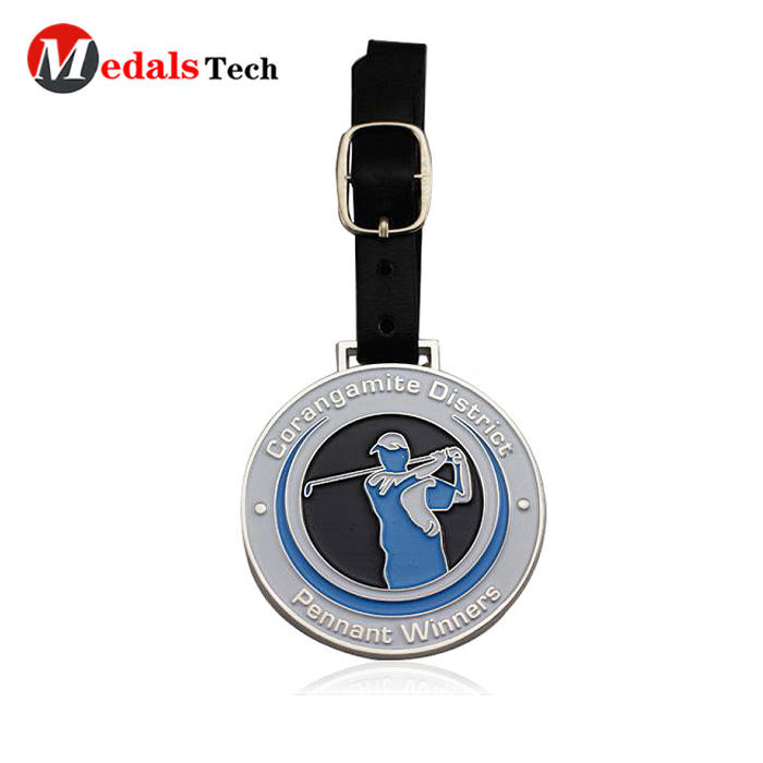 Medals Tech shinny personalized golf bag tags series for man-1