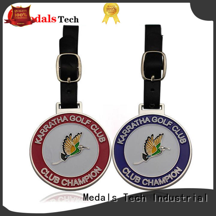 Medals Tech bag personalized golf bag tags manufacturer for man