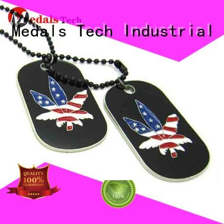 Medals Tech filled Dog tag supplier for adults