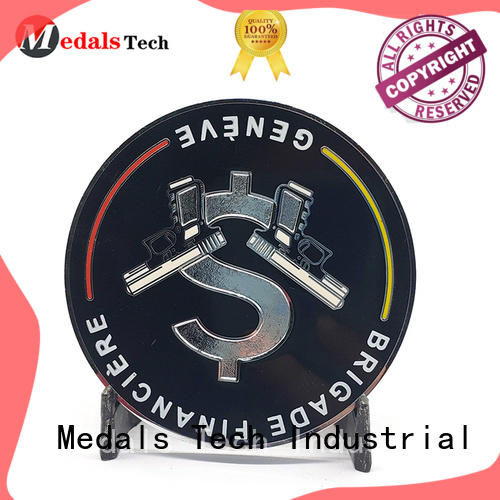 3d challenge coin design embossed factory price for kids