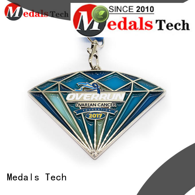 Medals Tech plated metal medal personalized for add on sale