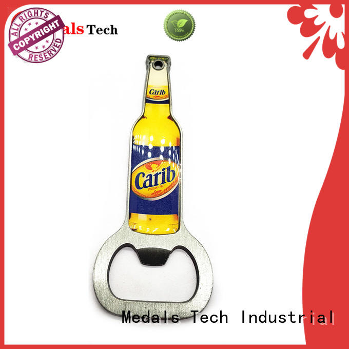 Medals Tech die casting customized bottle opener manufacturer for household