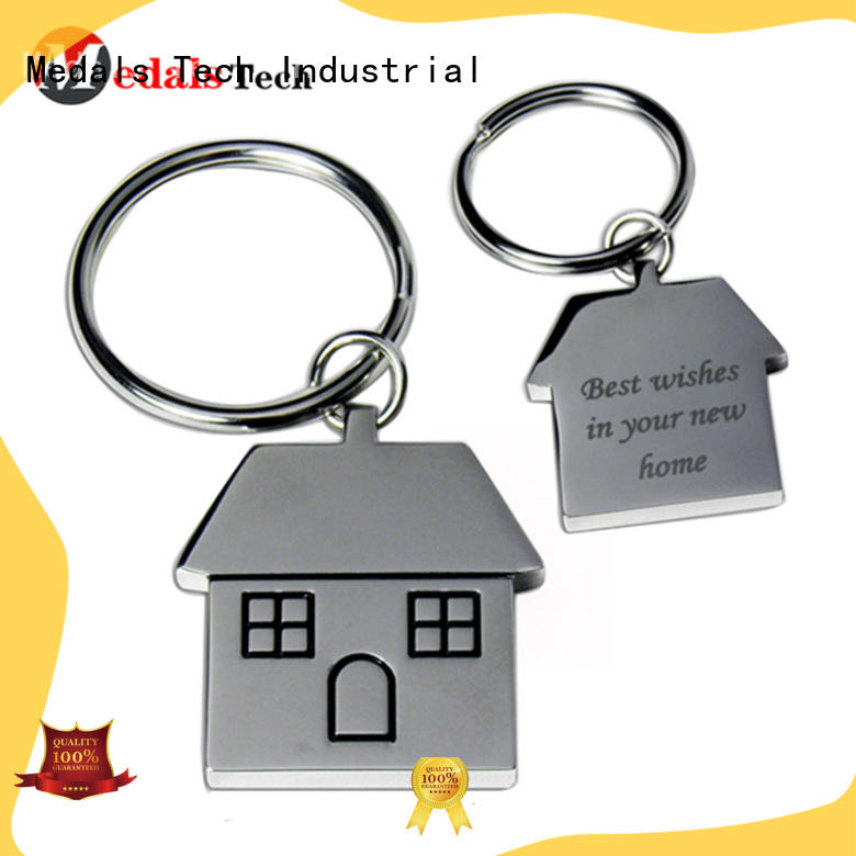 Medals Tech metal keychain supplies manufacturer for promotion