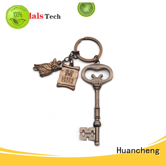 Hot christmas gifts home keychain santa Huancheng Brand