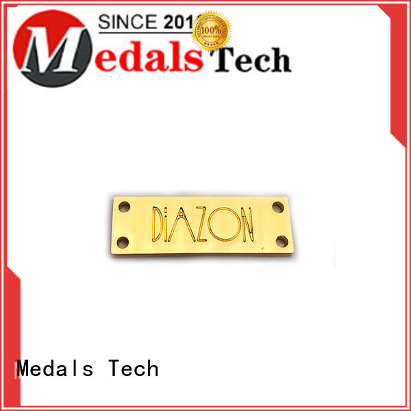 Medals Tech price metal name plates with good price for man
