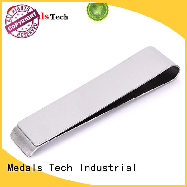 Medals Tech zinc wallet and money clip set factory for add on sale