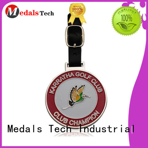 Medals Tech logo golf bag name tags directly sale for woman