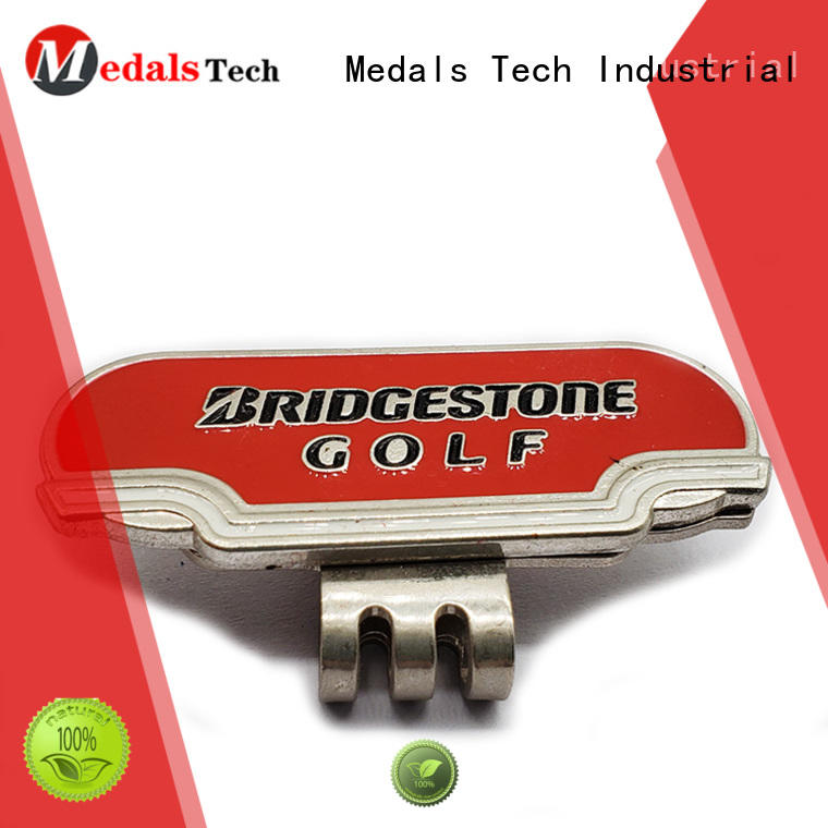 Medals Tech marker golf hat clips suppliers manufacturers for man