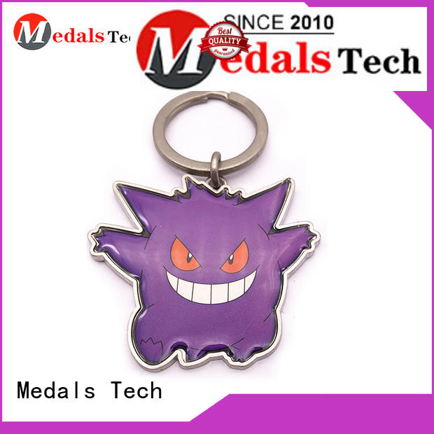 Medals Tech black keychain supplies directly sale for add on sale