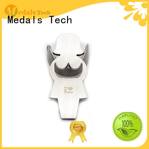 Medals Tech die casting beer bottle opener directly sale for add on sale