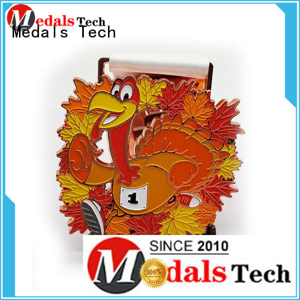 Medals Tech plated silver medal wholesale for man